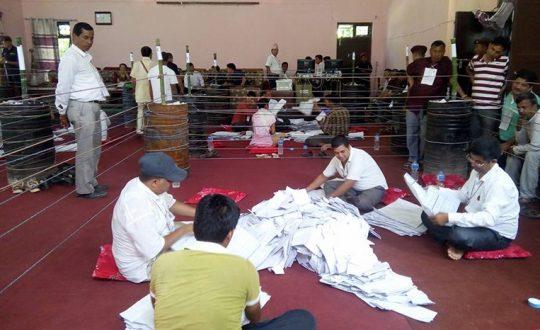 महोत्तरीमा मतगणना सकियोः राजपा पहिलो, माओवादी दोस्रो, एमाले निल