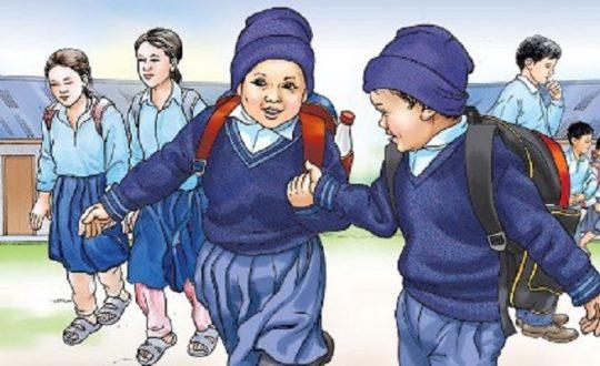 जन्मदर्ताविहीन दर्जनौँ  बालबालिका विद्यालयमा भर्ना