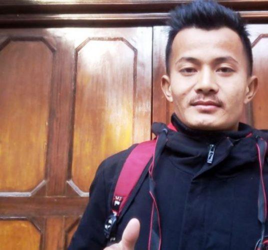 नेपालको झण्डा जलाउने तामाङ पुर्पक्षका लागि जेल चलान